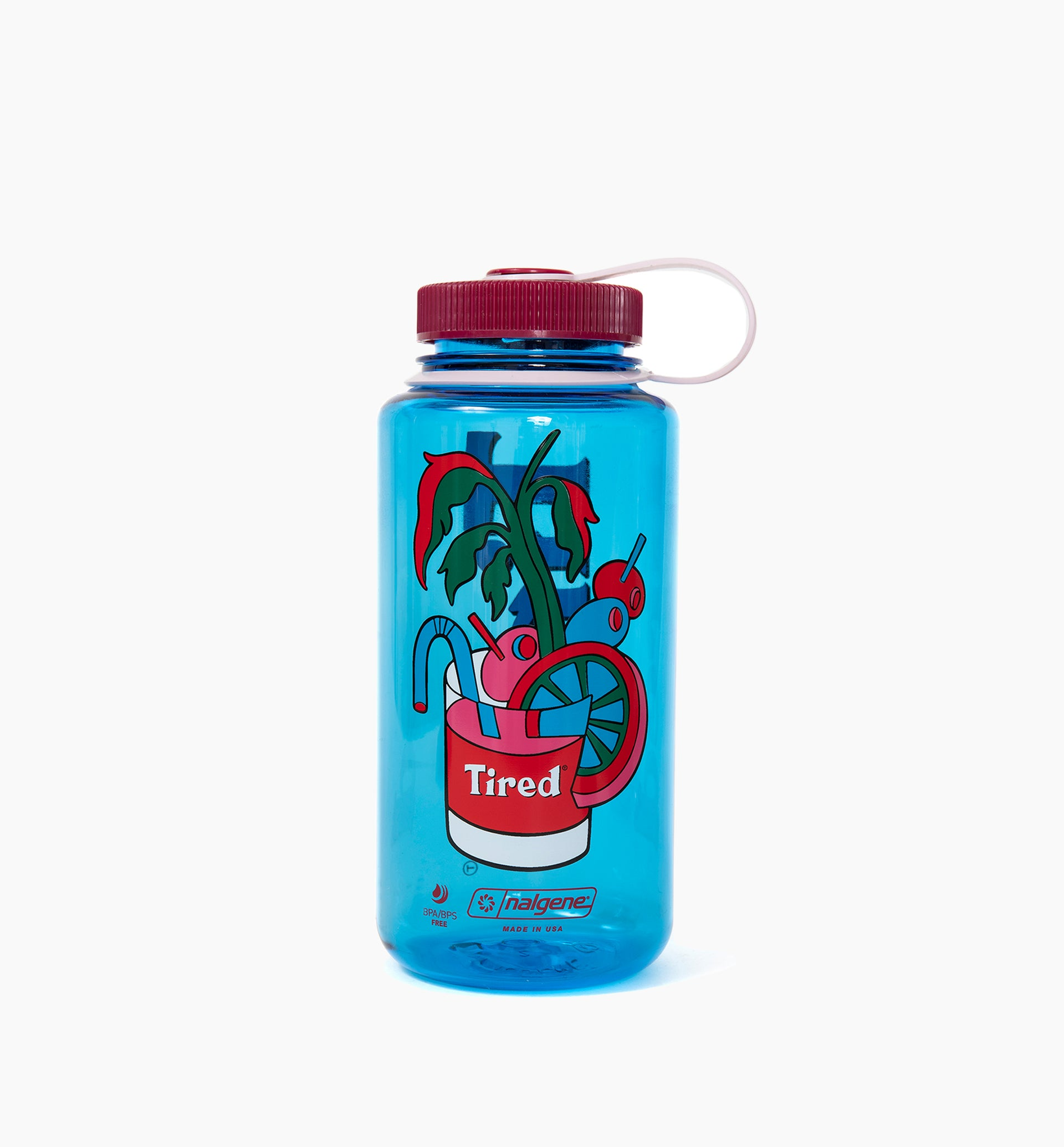 Parra - bloody Tired Nalgene water bottle