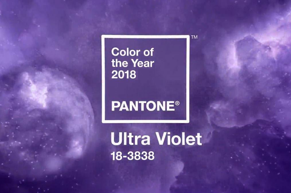 The 2018 interior design colour of the year is.....