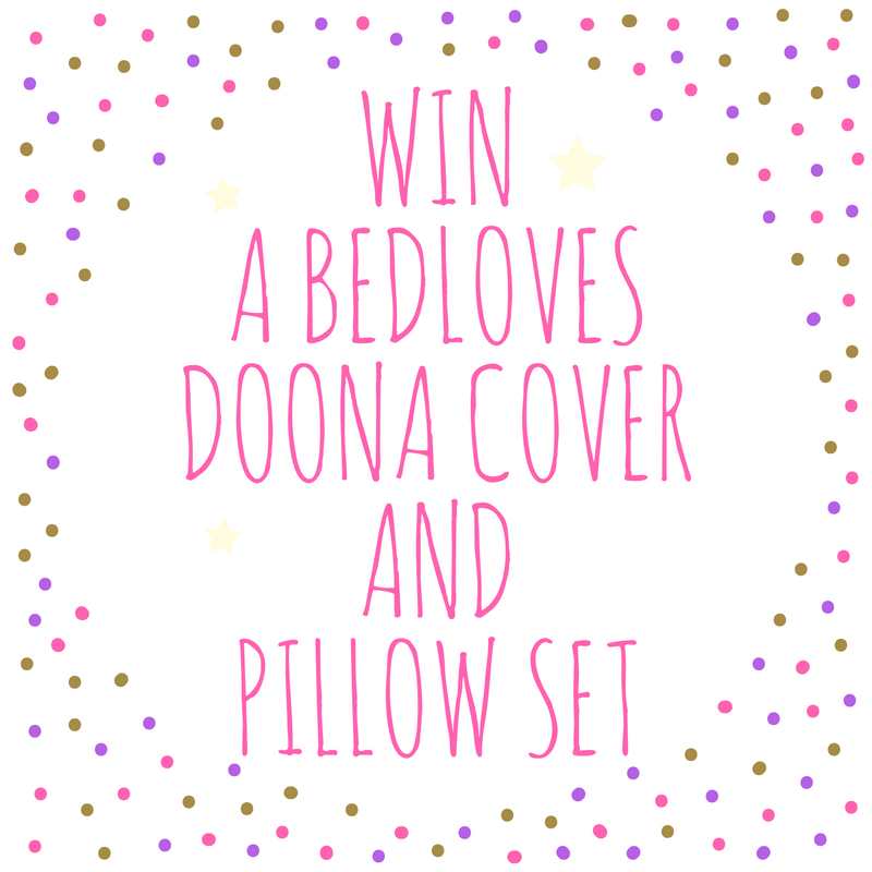 Win a duvet cover and pillowcase set!