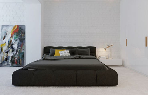 Bedloves Image: Minimalist Bedroom by Design Bug Graphics