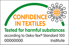 Bedsheets are certified by Okeo-Tex Standard 100
