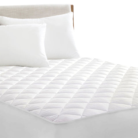 DreamZ Fully Fitted Waterproof Microfiber Mattress Protector King Single Size