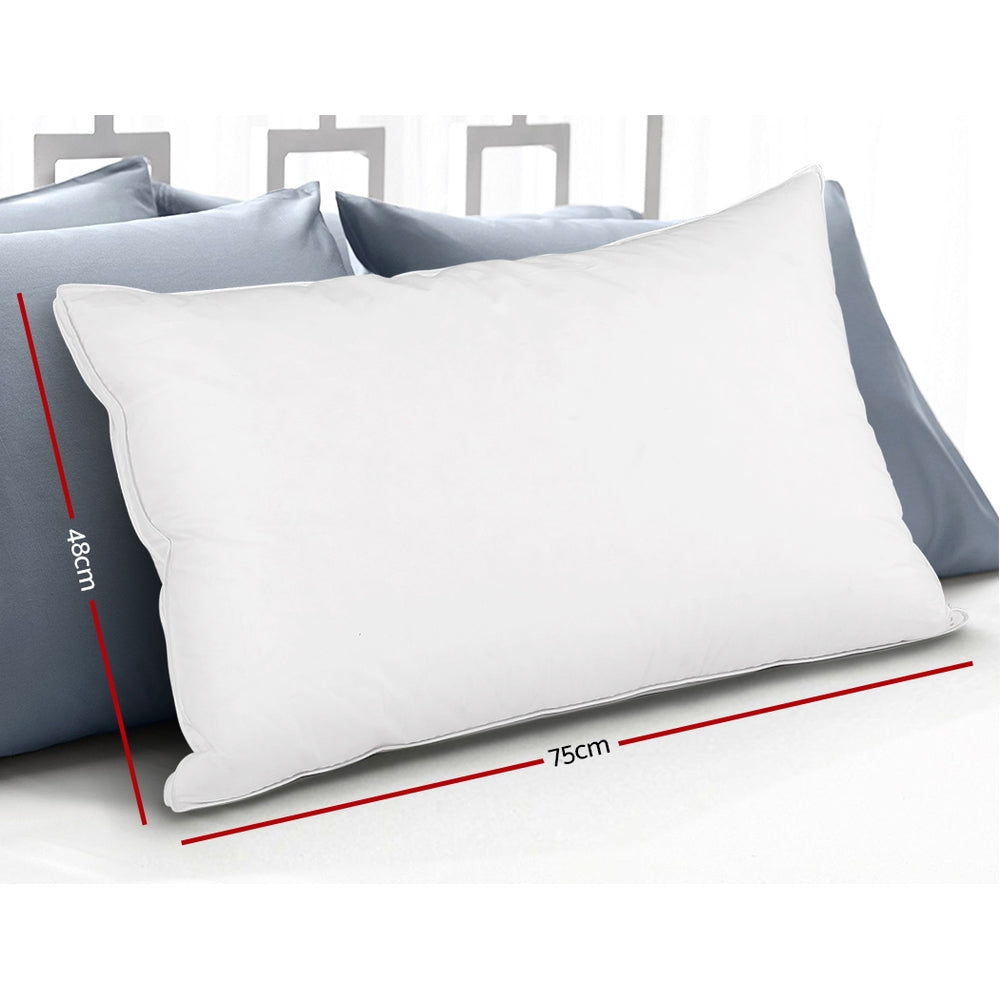 Pillow - Goose Down Filled - x 2