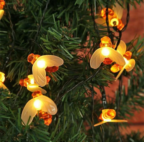 Solar Bee String Lights