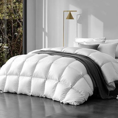 Image of Goose Down Feather Quilt Cover 500 /700/ 800 gsm (Mid / Winter Season)