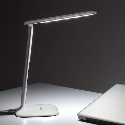 Image of Simplecom EL808 Dimmable Touch Control Multifunction LED Desk Lamp 4W with Digital Clock