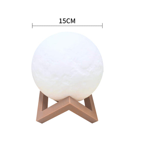 Image of Magical Moon Lamp Night Light - 15cm Diameter