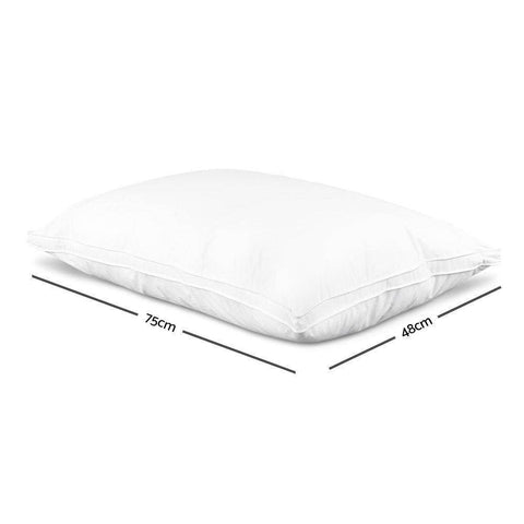 Image of Duck Down Filled Pillow x 2-bedloves