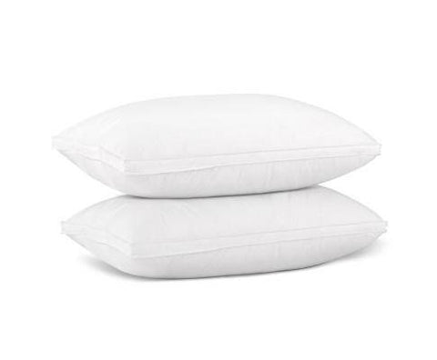 Duck Down Filled Pillow x 2-Bedding Pillow-Giselle Bedding-bedloves