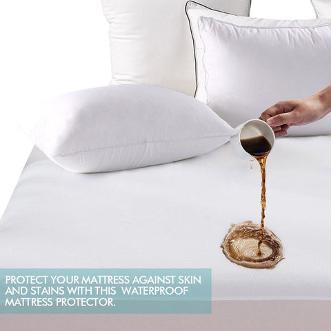 Waterproof Mattress Protector - Terry Cotton Cover