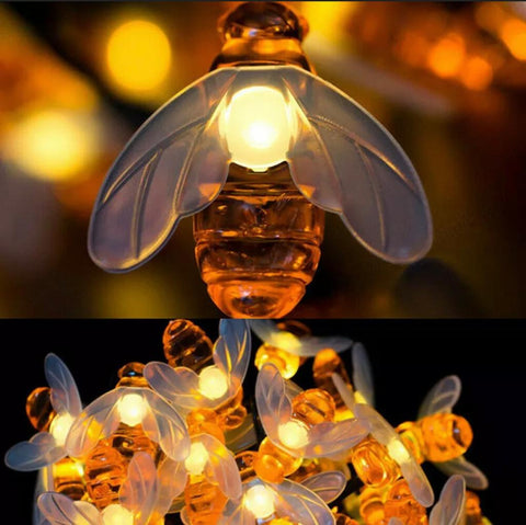 Image of Solar Bee String Lights