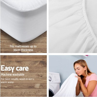 Image of Waterproof Bamboo Mattress Protector