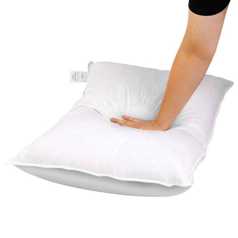 Pillow - Goose Down Filled - x 2-bedloves