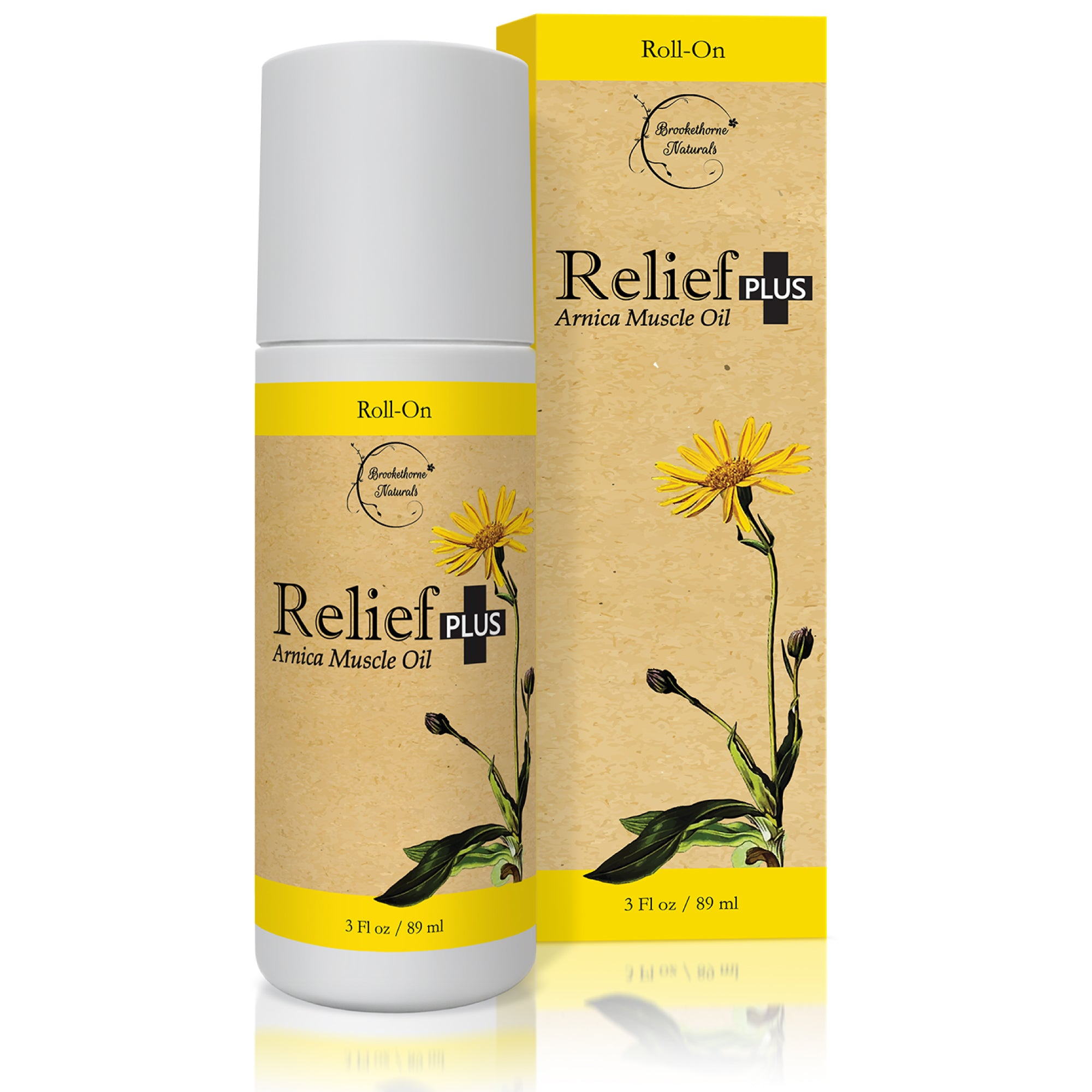 Relief PLUS Roll-On Muscle Oil 3oz