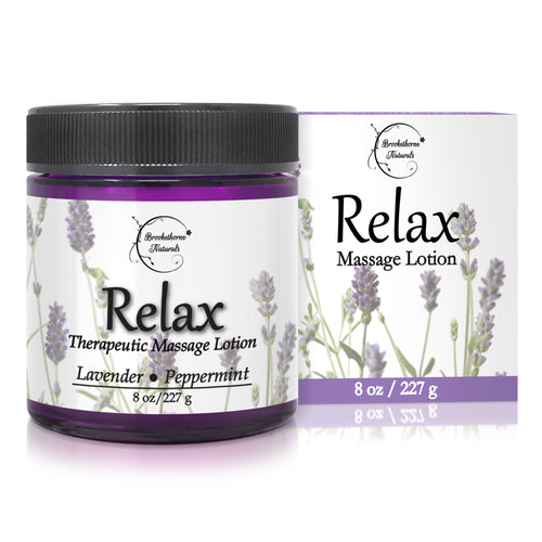 Relax Therapeutic Massage Lotion 8oz