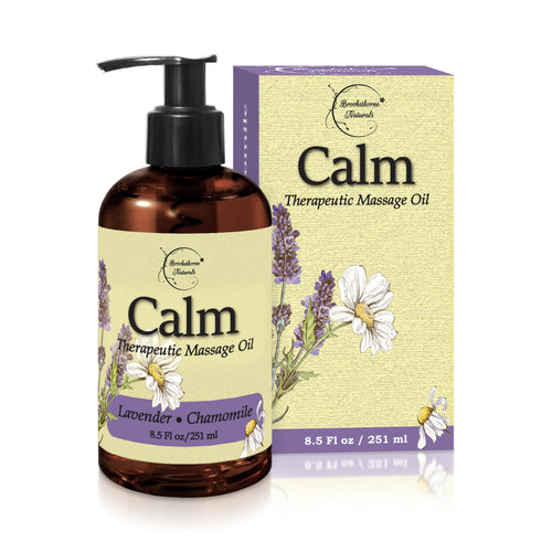"Calm ""Nut Free"" Massage Oil 8.5 Fl Oz"