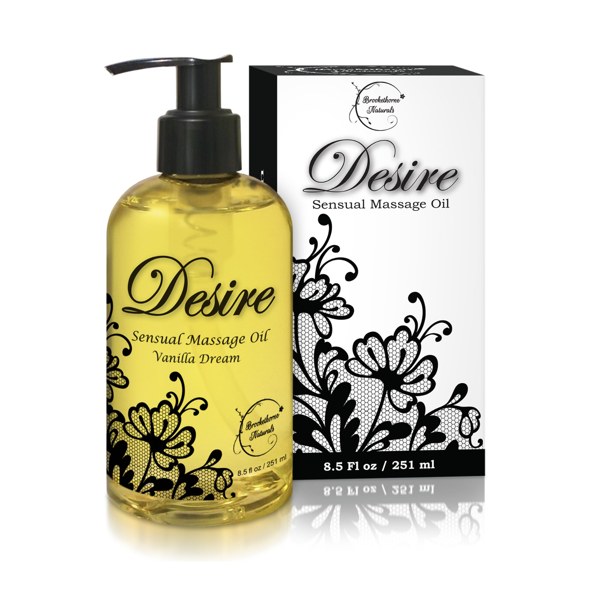 Desire Sensual Massage Oil 8.5oz