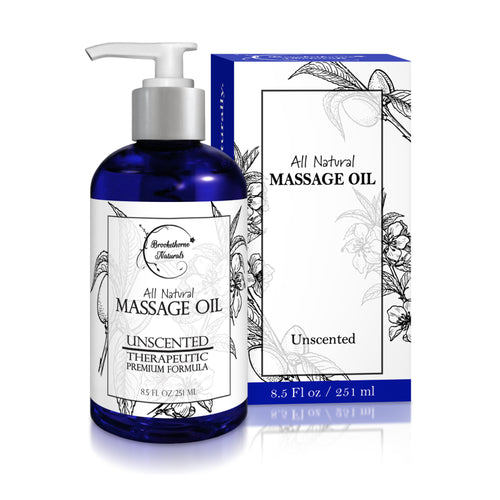 Almond Massage Oil 8.5 Fl Oz