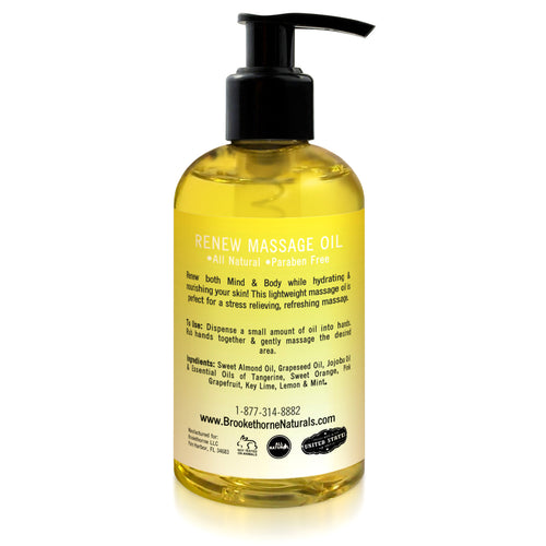 Renew Massage Oil 8.5oz