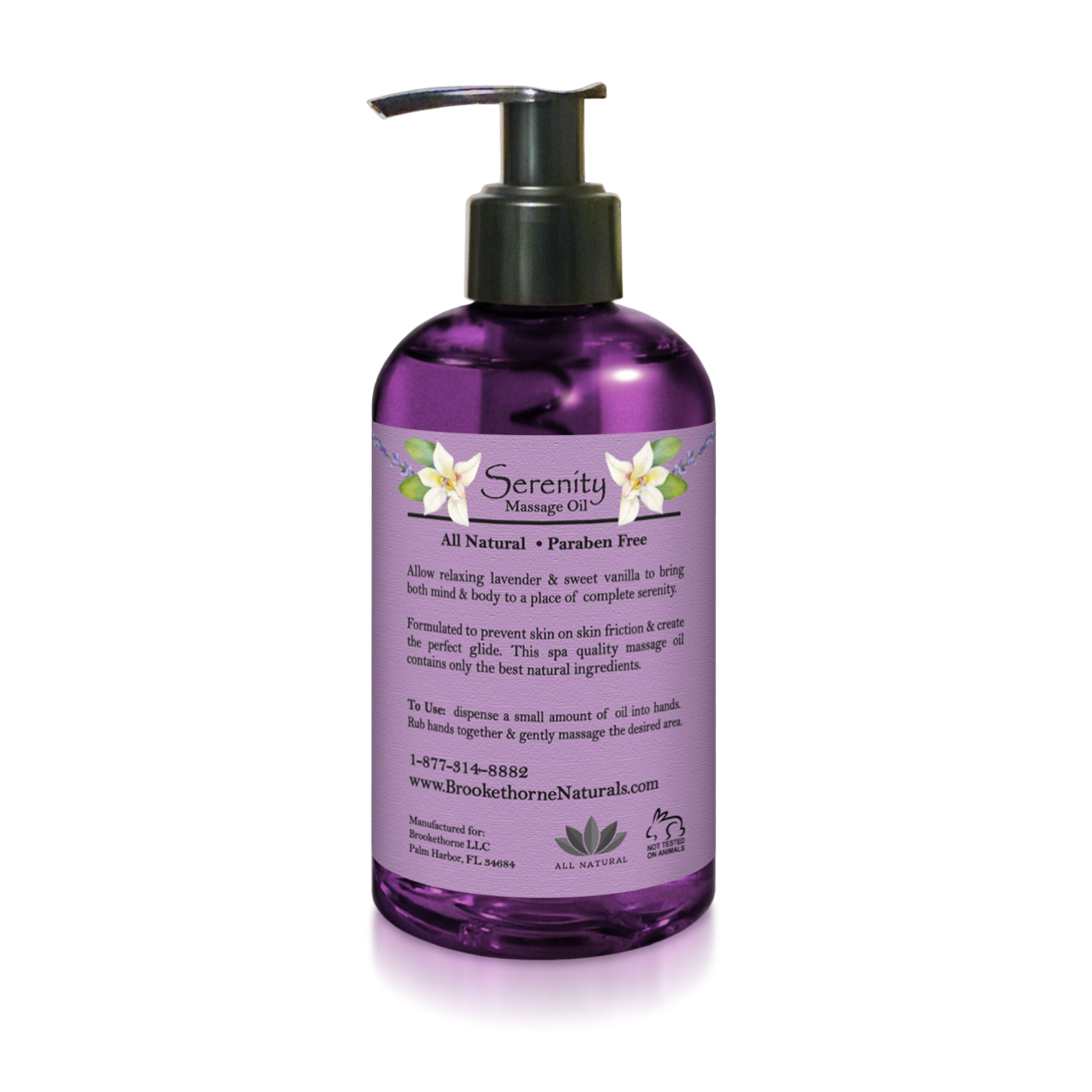 Serenity Massage Oil 8.5 Fl Oz