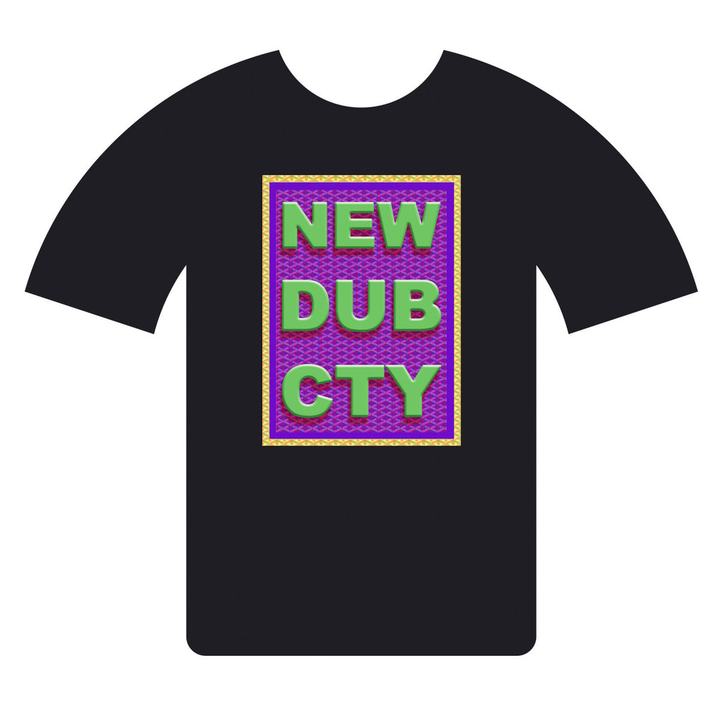 NEW DUB CTY T-shirt CNY 2017-BLK