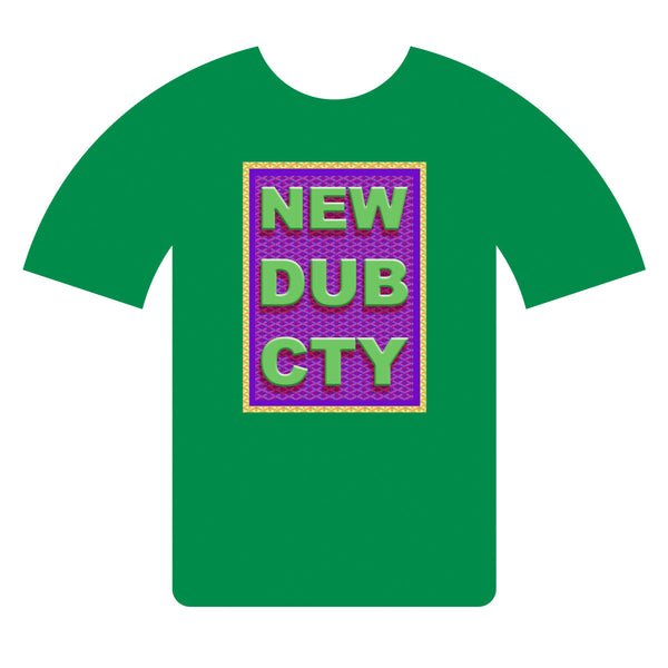 NEW DUB CTY T-shirt CNY 2017-GRN