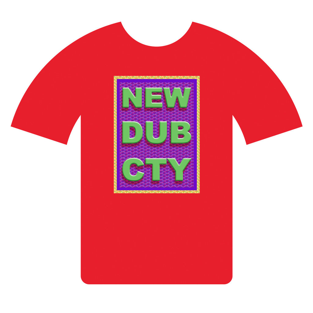 NEW DUB CTY T-shirt CNY 2017-RED