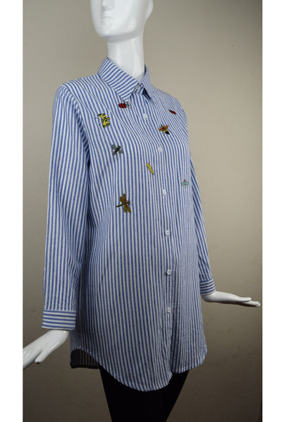 Dub City Pin Stripe Bug Shirt