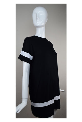 Dub City Black Jersey Dress