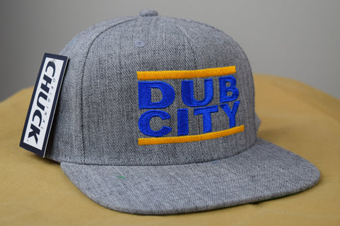 Dub City Hat - Original CHUCK Snapback HTRGRY