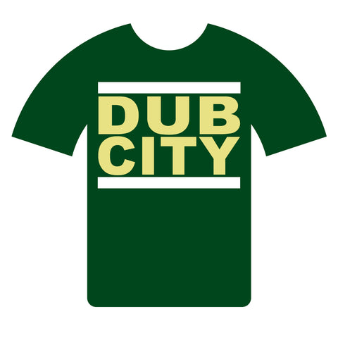 "Dub City ""Green and Yellow"" T-shirt"