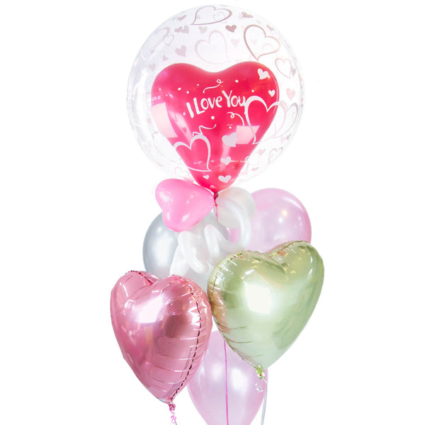 "Bouquet de Globos ""Love Is in the Air"""