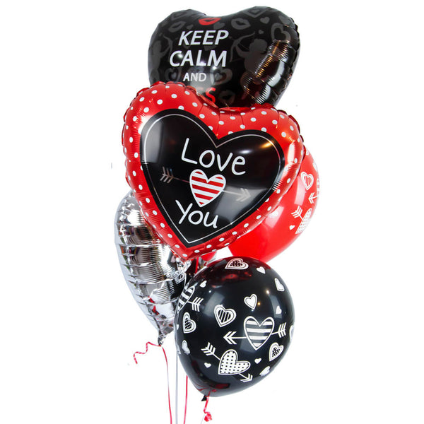 "Bouquet de Globos ""Kiss Me"""