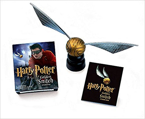 Harry Potter Golden Snitch Sticker Kit [With Book and Stickers] ( Mega Mini Kits )
