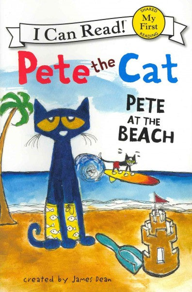 Pete at the Beach (My First I Can Read)