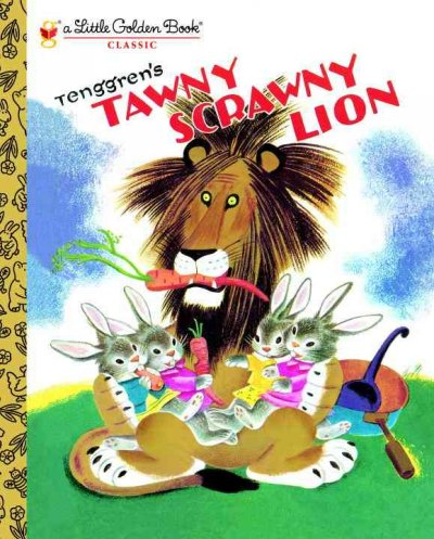 Tawny Scrawny Lion (Little Golden Books)