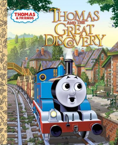 Thomas and the Great Discovery (Little Golden Books)