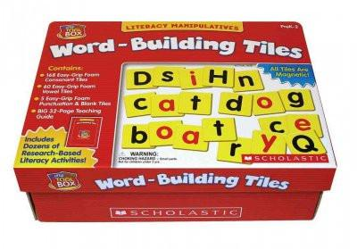 Literacy Manipulatives Word-building Tiles