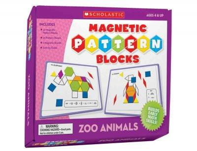 Magnetic Pattern Blocks: Zoo Animals