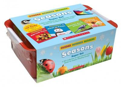 Seasons Super Set: A Big Collection of High-Interest Leveled Books for Guided Reading Groups (Guided Science Readers)