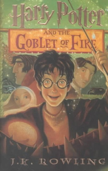 Harry Potter and the Goblet of Fire (THORNDIKE PRESS LARGE PRINT YOUNG ADULT SERIES)