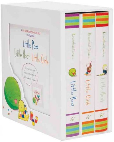 The Little Books Boxed Set: Little Pea/Little Hoot/Little Oink