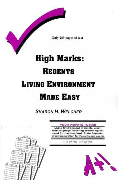 High Marks: Regents Living Environment Made Easy