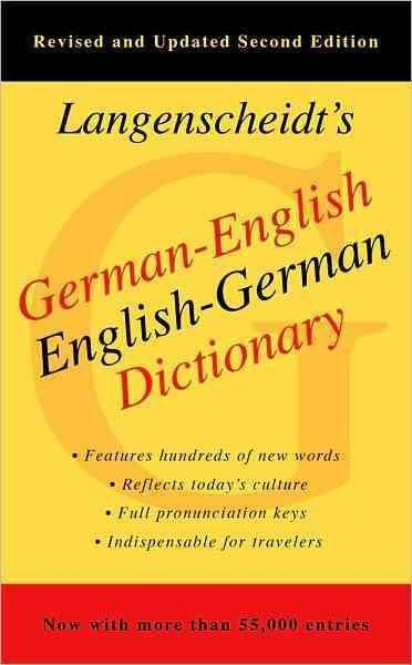 Langenscheidt's German-English English-German Dictionary (GERMAN)
