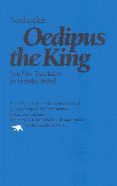 Oedipus the King (Plays for Performance): Oedipus the King