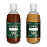 Leatherique Rejuvenator & Prestine Clean for all leather items: Twin Pack