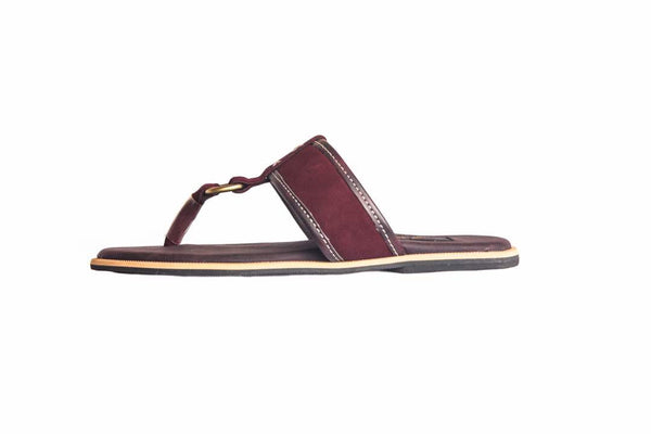 Burgundy Slipper