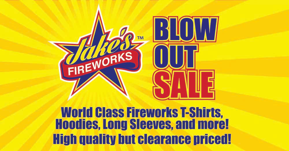 Apparel Blow Out Sale - June 1st & 2nd
