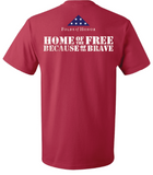 Folds of Honor - Home of the Free Shirt