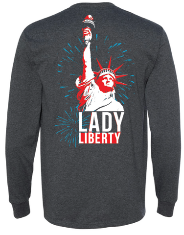 Lady Liberty Long Sleeve Shirt